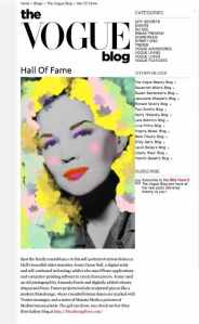 Jenny Caron Hall in Vogue