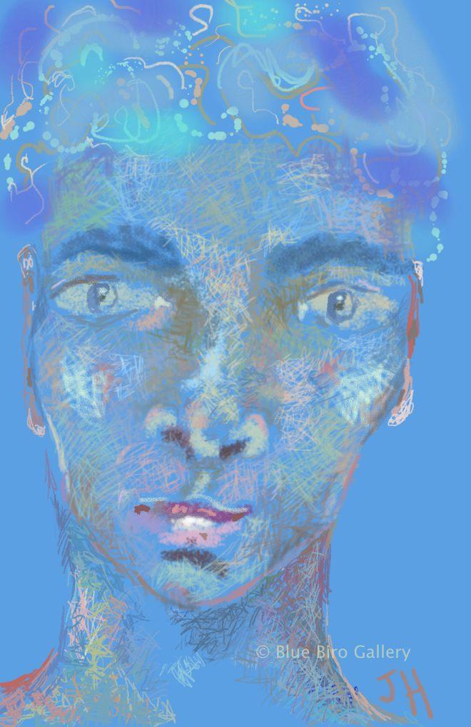Blue Face 2