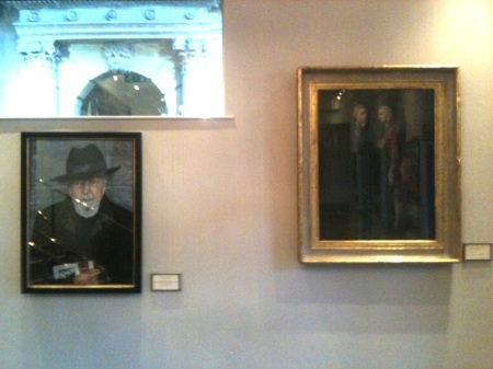 my painting hanging in the foyer, Theatre Royal Bath